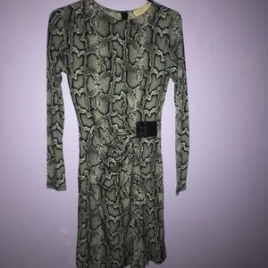 michael kors snake dress